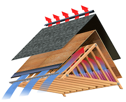roofing insulation graphic